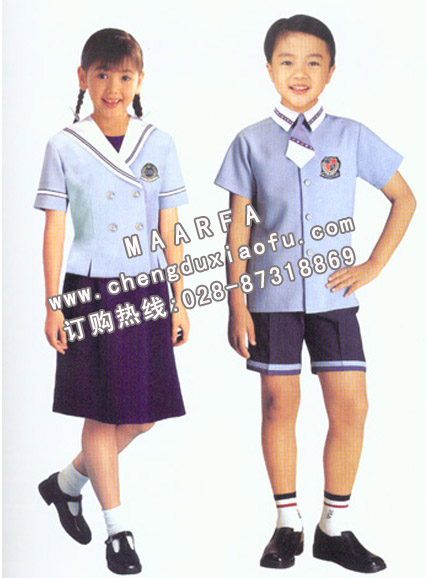 产品栏目 学生校服类 小学校服  成都小学校服批发介绍>>重庆小学校服