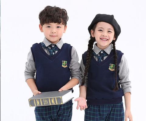 成都幼儿园马甲校服09
