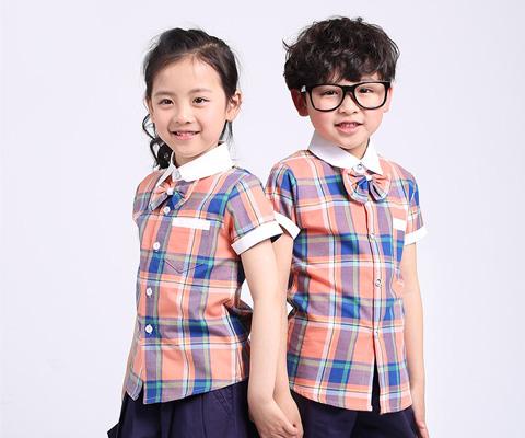 成都幼儿园校服衬衫校服01