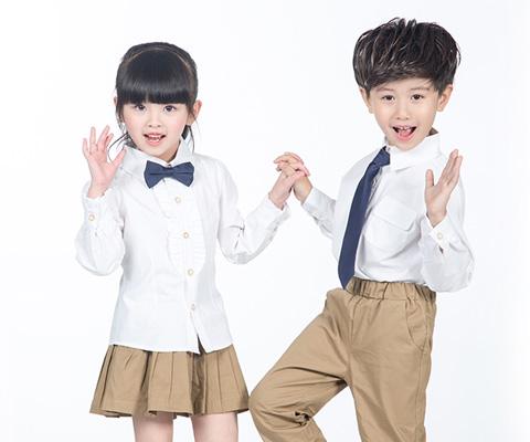 成都幼儿园校服衬衫校服09