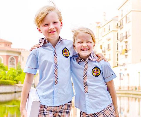 成都幼儿园校服衬衫校服15