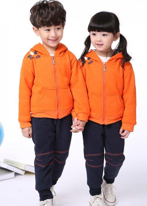 成都幼儿园校服运动服01