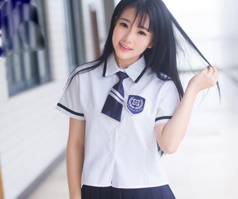成都校服中学校服衬衫校服04