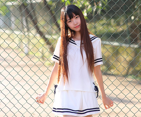 成都校服中学校服衬衫校服05