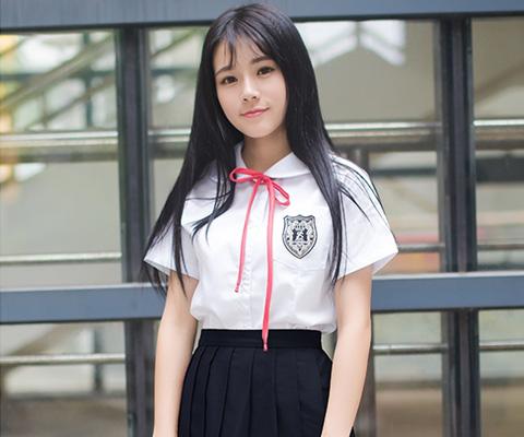 成都校服中学校服衬衫校服07