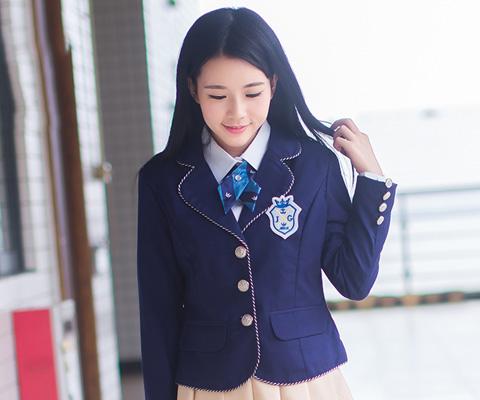 成都校服中学校服西服西裙校服06