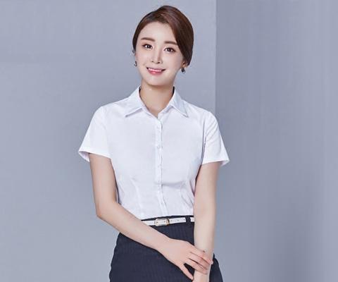 成都校服教师服衬衫07