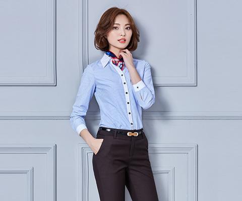 成都校服教师服衬衫08