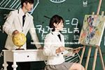 <b>美拓特斯拉校服:学生自己设计校服式样 工厂根据要求定制校服</b>